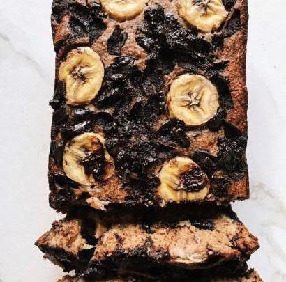 Glutensiz Şekersiz Çikolatalı Muzlu Kek tarifi