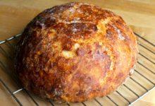 Ev Yapımı Peynirli Ekmek tarifi