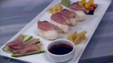 Ton Balıklı Sashimi tarifi