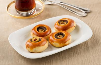 Zeytin Ezmeli Mini Pizza tarifi